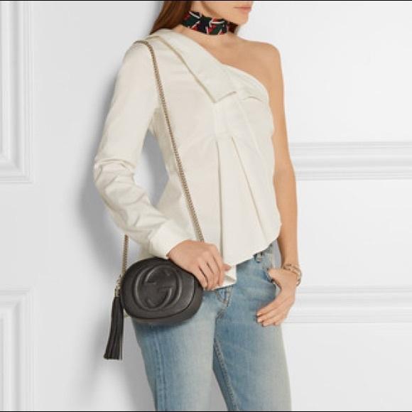c0746a7c3 Gucci Soho mini textured-leather shoulder bag. M_5a99bf9d2ab8c5d4f9989f4d